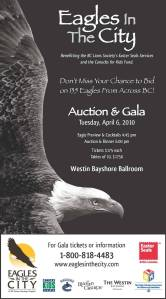 Tiana's eagle is up for auction