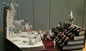 Rankin admirer paper sculpture Filmhouse